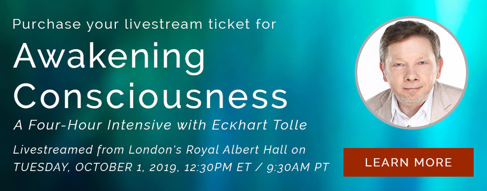 Events - Eckhart Tolle | Official Site - Spiritual Teachings